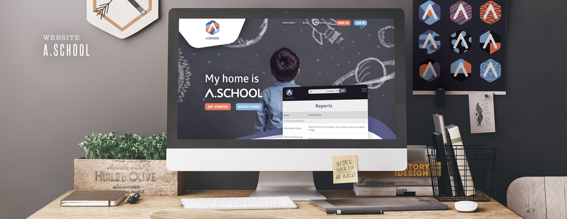 A.school | Web Design by Web Design Studio