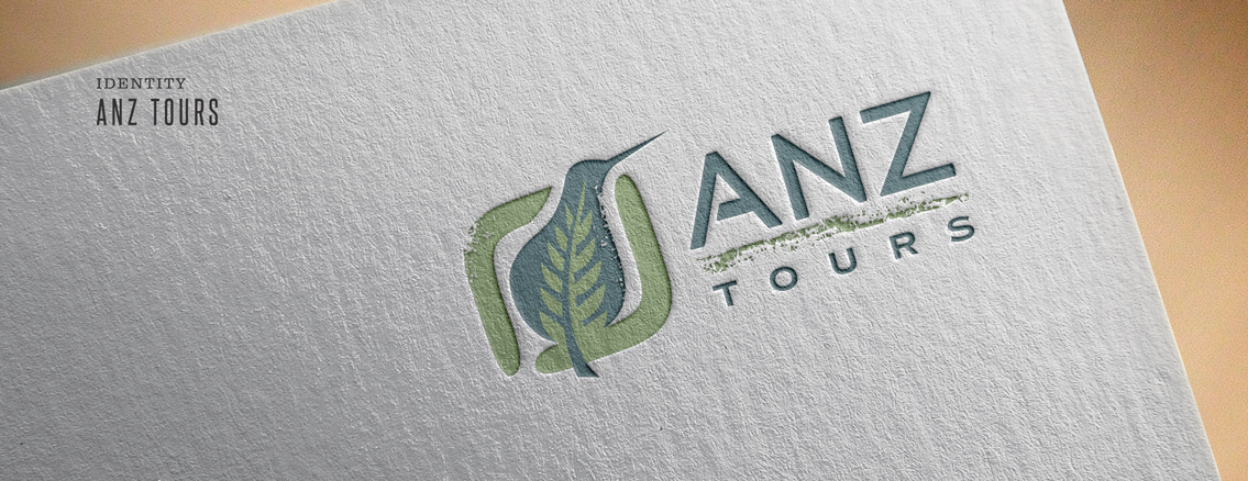 ANZ Tours | Logo Design by Wichita Design Studio
