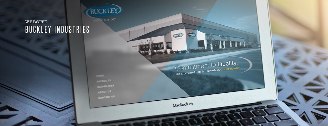 Buckley Industries | Website Design by Wichita Web Design Studio