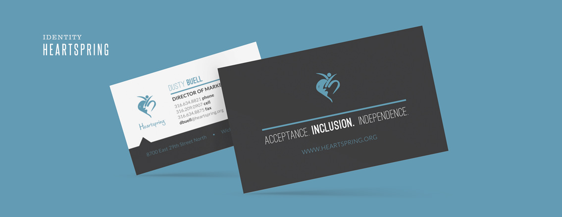 Heartspring | Stationery for Wichita Business