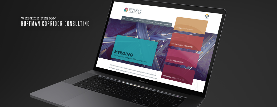 Huffman Corridor Consulting | Web Design by Wichita Web Design Studio