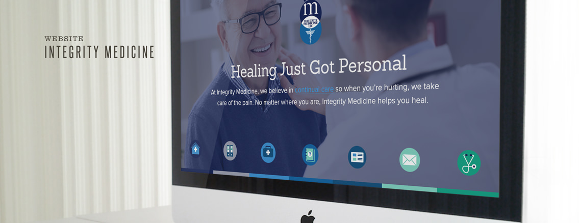 Integrity Medicine | Custom Direct Primary Care Web Design