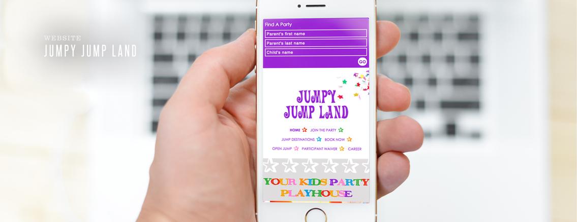 Jumpy Jump Land | Responsive Web Design for Events Venue