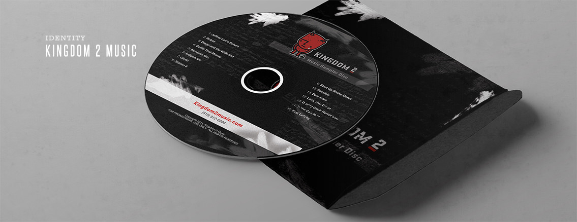 Kingdom 2 Music | Custom CD Art - Kingdom 2 Music | Entermotion