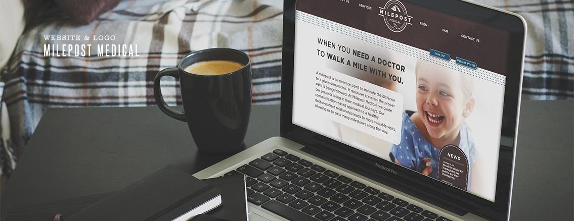 Milepost Medical | Healthy Website Design for Medical Practice