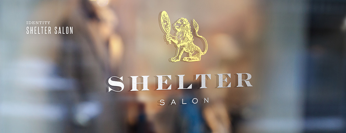 Shelter Salon | Custom Logo for Wichita Salon