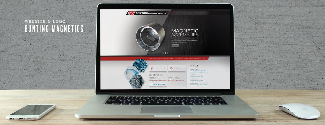 Bunting Magnetics | Iconic Logo Development for Bunting Magnetics