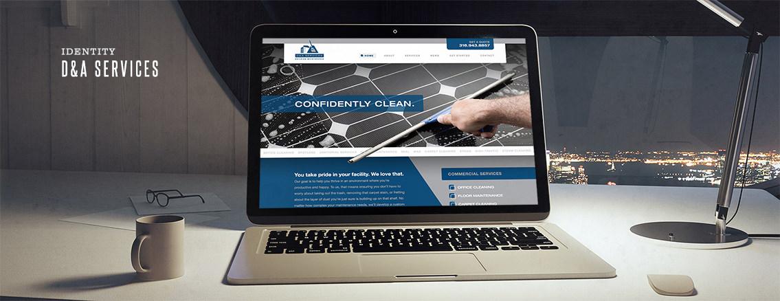 D&A Services | Corporate Brochure Design - D&A Services | Entermotion