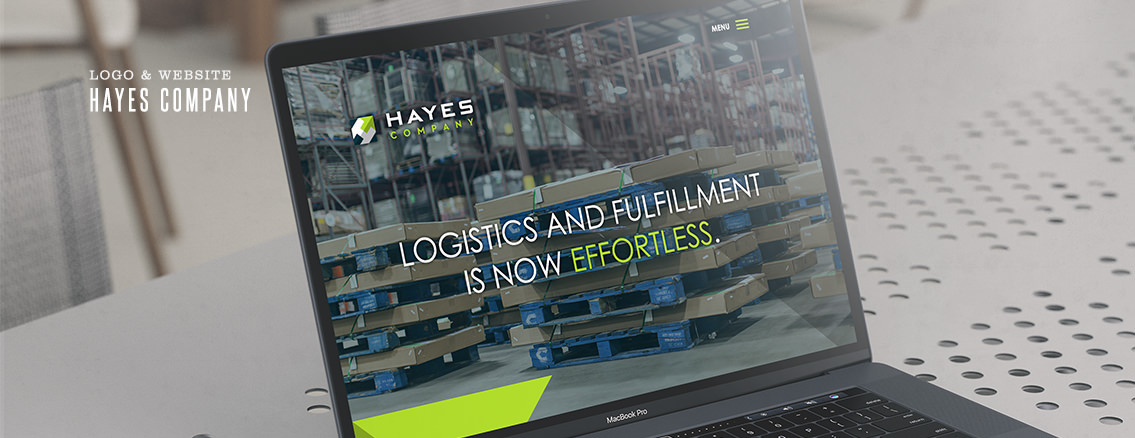 Hayes Company | Custom Website and Logo Design for Kansas Company