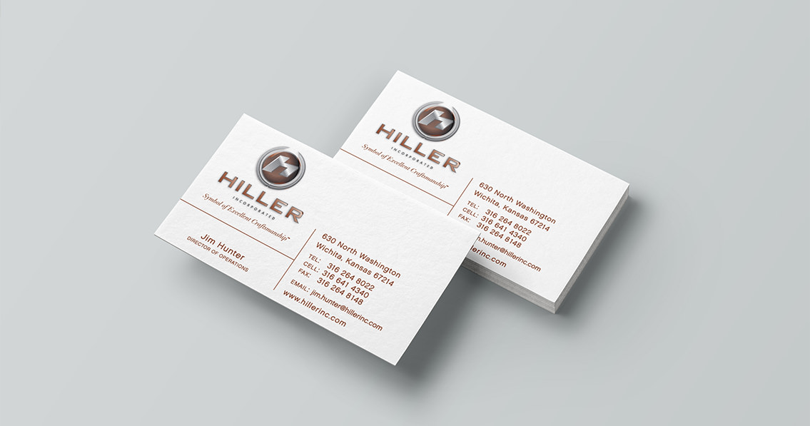 Corporate Marketing Collateral - Hiller, Inc. | Entermotion