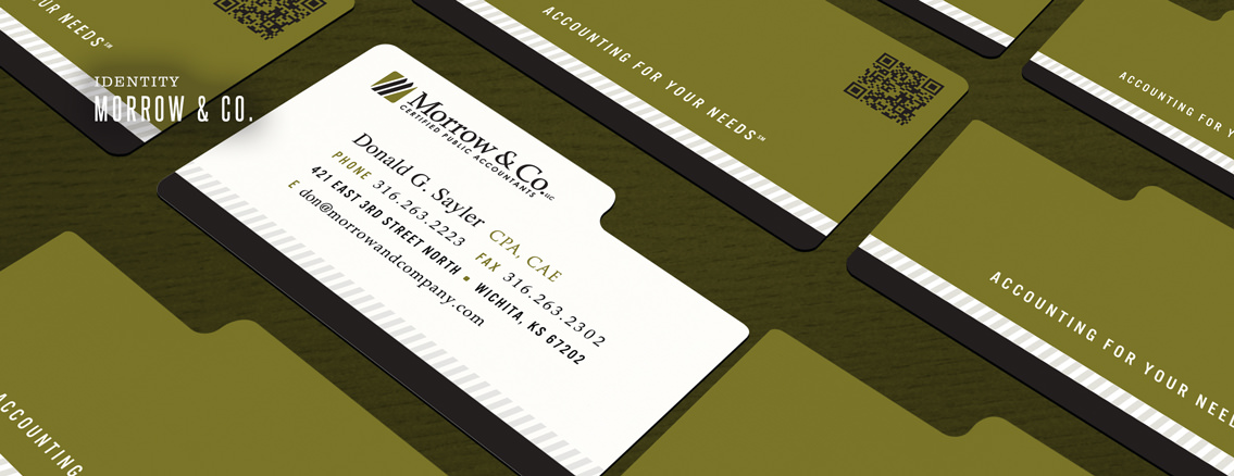 Morrow & Co. | Smart Brochure Design for CPA Firm