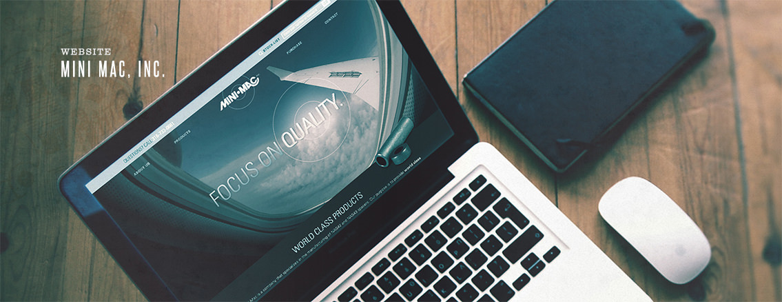 Mini Mac, Inc. | Corporate Web Redesign - Mini-Mac | Entermotion