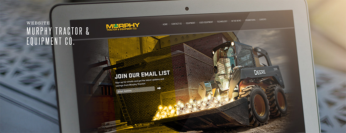 Murphy Tractor | Corporate Website for Murphy Tractor