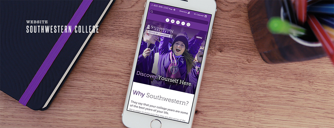 Southwestern College | Educational Website Design - Southwestern College | Entermotion