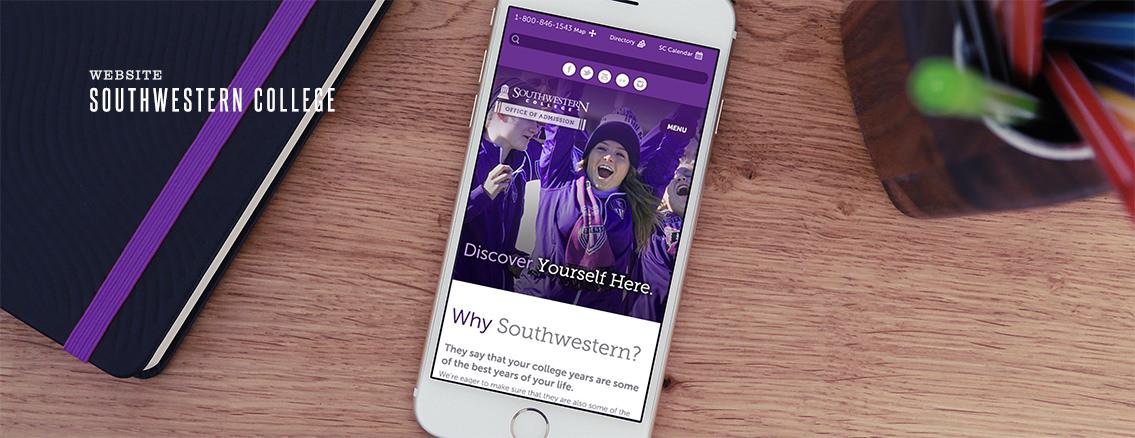 Southwestern College | Educational Website Design - Southwestern College | Entermotion